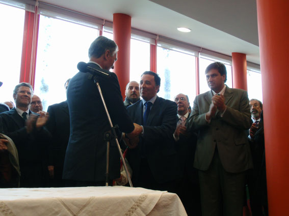 Inauguração da Casa Acolhimento