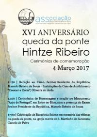 XVI Aniversário queda ponte entre os rios